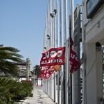18 luglio 16.12  SS Stefano-Gela conferenza stampa di denuncia della Fillea CGIL