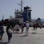 19 luglio 07.30  Stamane mini crociera nello stretto organizzata dalla ONLUS A.R.I.A.D.