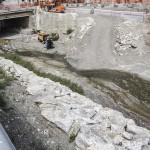 Proseguono i lavori nel torrente Vallone a Giampilieri