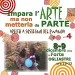 """5 dicembre 07.30  Solidarietà, presentazione di """"Impara l'Arte ma non metterla da parte"""""""