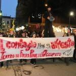 Occupywaterfront, l'entusiamo del Pinelli attraversa la città