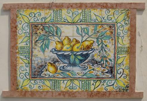Nel regno delle ceramiche d 39 autore un accademia di belle arti sicilians - Santo stefano di camastra piastrelle ...