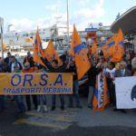 La grande proletaria si è mossa: il corteo dell'Orsa attraversa Messina