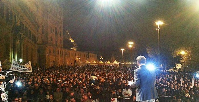 Lo Sfiducia Day organizzato a Palermo dal Movimento 5 Stelle