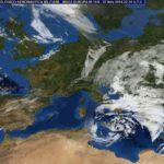 Avanza il ciclone sulla Sicilia e si dirige verso la Grecia, monitoraggio costante della Protezione civile