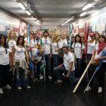#Palermo. Fiaccolata degli operatori Accenture e Almaviva
