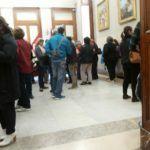 Palazzo Zanca occupato dai lavoratori dei servizi sociali