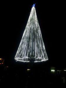 L'albero di Natale dell'isolato 13