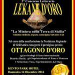 "#Enna. ""Lekane d'Oro"", premiati Beatrice Basile e Sebastiano Tusa"