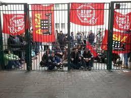 Una protesta del Coordinamento Asia USB di Messina