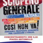 #Messina. Sciopero generale di Cgil e Uil, fermi i mezzi pubblici