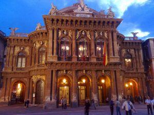 Il Teatro Mssimo Bellini di Catania