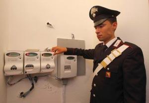Truffa energia elettrica Carabinieri
