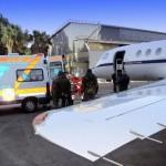 #Palermo. Trasportata in aereo donna calabrese per un trapianto all'ISMETT