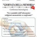 #Enna. Giornata della Memoria, in Prefettura un convegno sul monoteismo