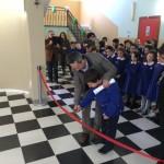 #Caltanissetta. Sindaco e assessore in scuolabus per inaugurare i Corridoi dell'arte