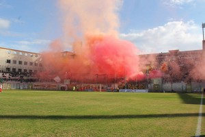 Messina-Reggina 25-1-2015 Tifosi a