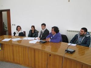 La conferenza stampa dei Grilli del Tirreno