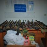 #Catania.Un arsenale da guerra e droga in un anonimo garage di Librino