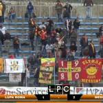 Incredibile Lupa Roma – Messina: pareggia il portiere in pieno recupero