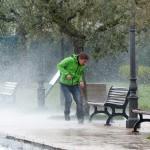 #Catania. La tempesta di grandine provoca danni incalcolabili e Bianco chiede l'emergenza