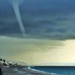 #Messina. Tromba marina a Roccalumera: il video