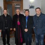 #Enna. Il Vescovo Muratore in visita al Circolo Sociale Argyrium