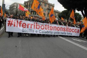 La manifestazione del 14 febbraio scorso (Foto Paolo Furrer)