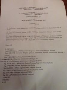 L'elenco degli invitati all'audizione della Commissione Trasporti: il nome del sindaco Accorinti non c'è