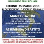 #Palermo. Oggi il direttivo regionale della FIT Cisl Sicilia