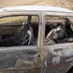 #Merì. Un incendio nella notte distrugge una Chrysler 300C