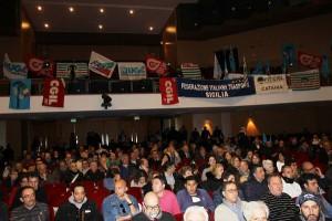 Presenti al PalaCultura i sindacati confederali, Fast e Ugl