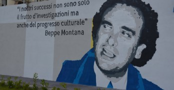 Beppe montana murales