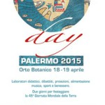 #Palermo. Earth Day all'Orto Botanico
