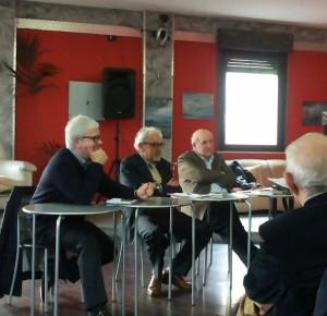 Da sinistra: Luigi beninati, Peppe Fera, Ciccio Barbalace
