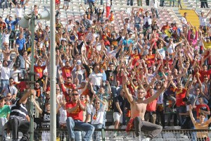 ACR Messina-Salernitana 3-5-2015 tifosi
