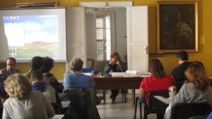 Apertura dei lavori da parte di Gabriella Gribaudi