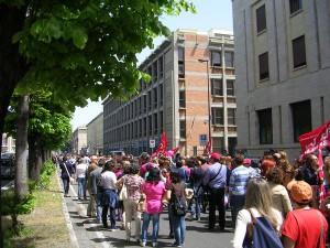 Corteo sciopero scuola 5-5-2015