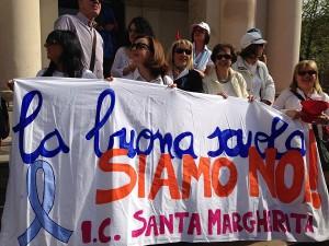 Corteo sciopero scuola 5-5-2015 b