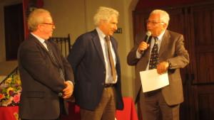 Da sx G. Firera, C. Mineo, C. Di Pietro