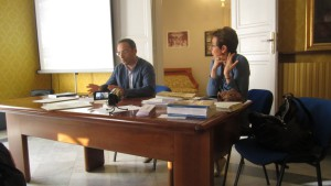Giancarlo Poidomani e Roberta Garruccio