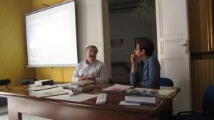 Giuseppe Barone e Roberta Garruccio