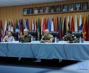 I capi missione di UNIFIL, UNIFICYP, UNDOF e UNTSO