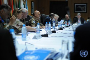 Il Gen. Portolano avvia i lavori della conferenza