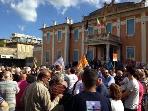 Protesta ospedale Piemonte 22-5-2015