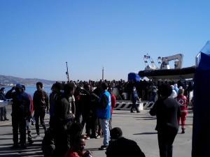 Sbarco migranti 4-5-2015 m