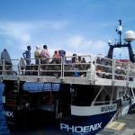 #Messina. Progetto MOAS: in porto la Phoenix con 402 migranti
