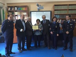 """Scuola """"Simone Neri"""" premiazione 21-4-2015"""