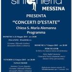 #Messina. Concerto della Sinfonietta Messina a Santa Maria Alemanna