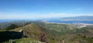 Stretto di Messina, panorama
